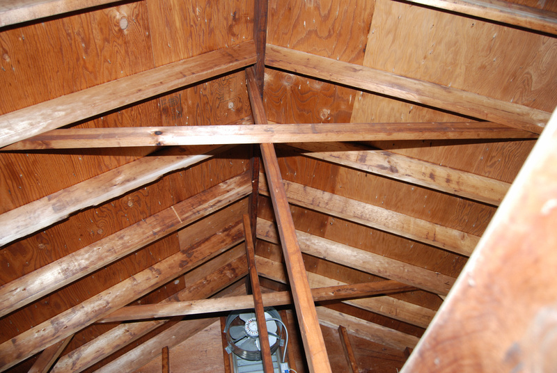 Reinforce Roof Rafters Amp Roof Rafters In The New